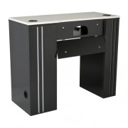 NM901 Manicure Table with UV Gel Hold - 2a