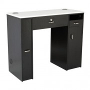 NM901 Manicure Table with UV Gel Hold - 3a