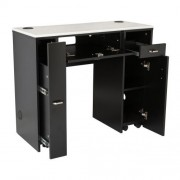 NM901 Manicure Table with UV Gel Hold - 4a