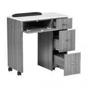 NM904 Space Saving Manicure Table - 1a