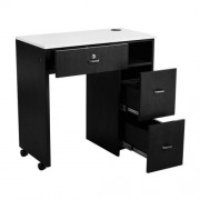 NM904 Space Saving Manicure Table - 4a