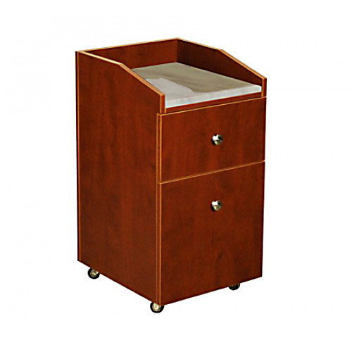 Neo Pedicure Cart Marble