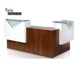 Paris L Shaped Reception Desk-1a