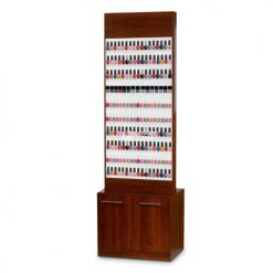 Paris Nail Polish Rack Cabinet