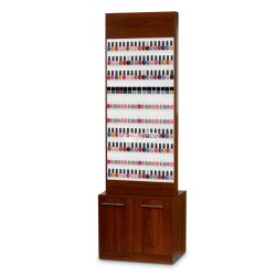 Paris Nail Polish Rack Cabinet-1a