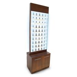 Paris Nail Polish Rack Cabinet LED Light-1da