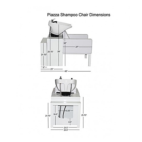 Piazza Shampoo Chair Station