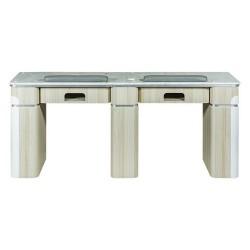 Topas Double Nail Table - 69 - 2a