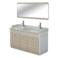 Topas Double Sink With Faucets - 55 - 1a