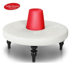 Tuffet Round Waiting Chair - 1a