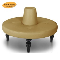 Tuffet Round Waiting Chair - 7a