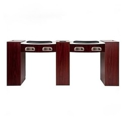 Ultimate Exhaust Double Manicure Table 010