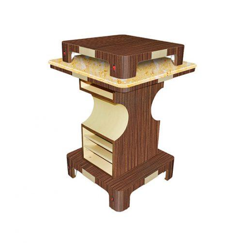 Verona II Nail Dryer Table – Square