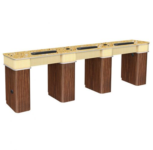 Verona II Nail Table Triple