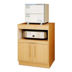 Wooden Cabinet for Hot Stone Heater Towel Warmer - 4a