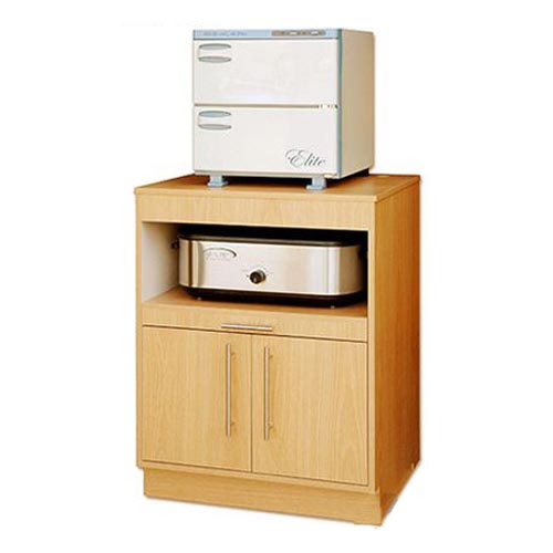 Wooden Cabinet for Hot Stone Heater Towel Warmer