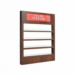 Wooden Mini Nail Polish Wall Rack