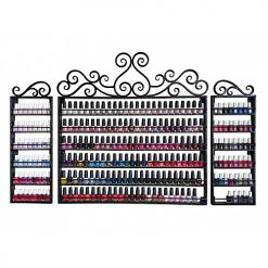 Wrought Iron Nail Polish Rack