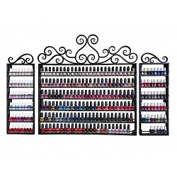 wrought-iron-nail-polish-rack