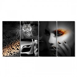 Animal Attraction Canvas Murals
