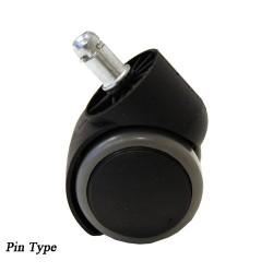 Caster Wheel Euro Stool Pin Type1