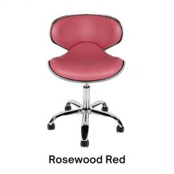 Euro Technician Stool Rosewood Red