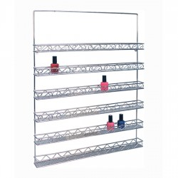 Metal Wall Polish Rack