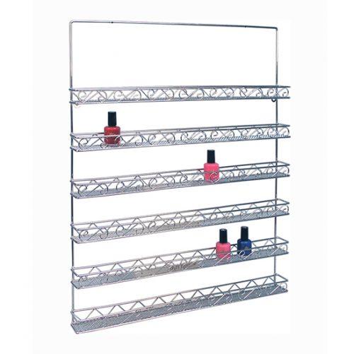 Metal Wall Polish Rack