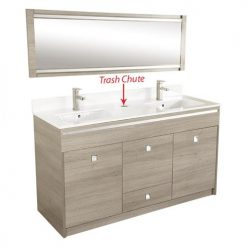 Moon Double Sink
