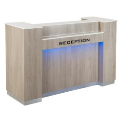 Moon Reception Desk 1 With Led - 1