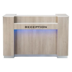 Moon Reception Desk 1 With Led - 2