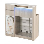 Moon Reception Desk 2 With Led - 2