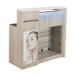 Moon Reception Desk 2 With Led