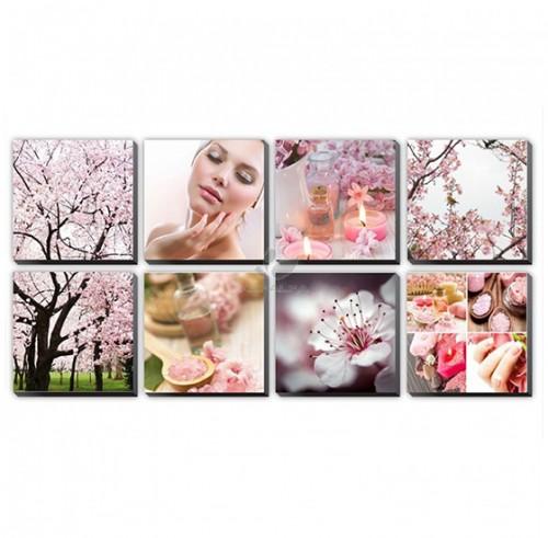 Pink Cherry Blossom Canvas Murals