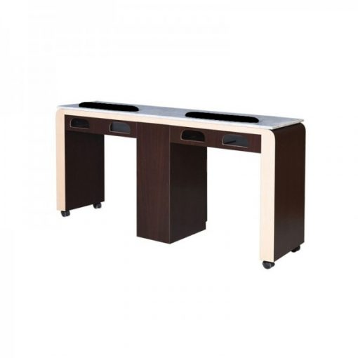 QT Double Nail Table 61″