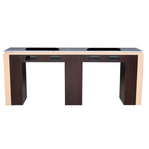 QT Double Nail Table 74″