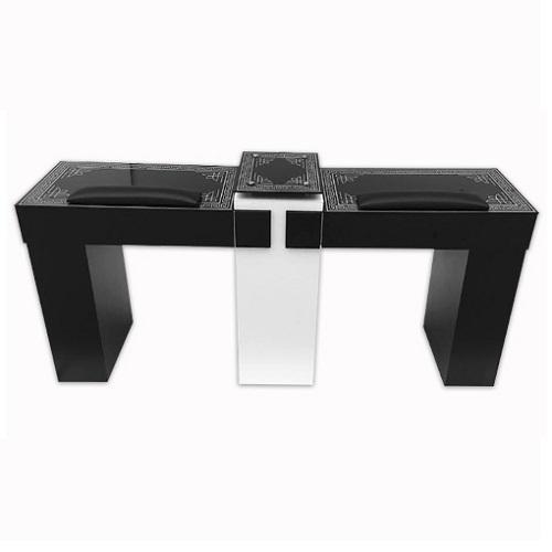 T15P BK Double Nail Table