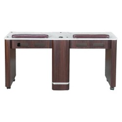 Venus Double Nail Table 59 Inches - 1