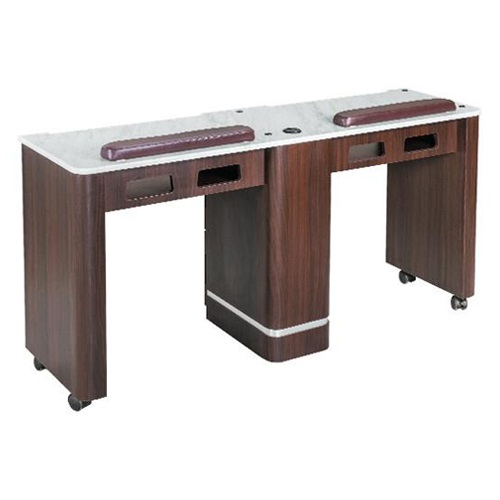 Venus Double Nail Table 59 Inches