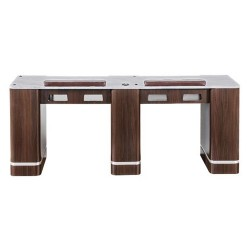 Venus Double Nail Table 72 Inches - 1