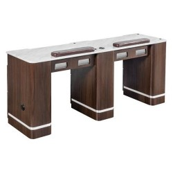 Venus Double Nail Table 72 Inches