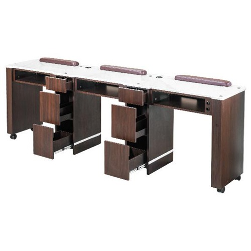 Venus Triple Nail Table