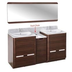 YC Double Sink w Faucet 64-1.1
