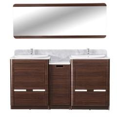 YC Double Sink w Faucet 64-1.2