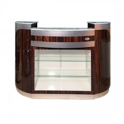 Reception Desk C 209 (Cherry Aluminum)
