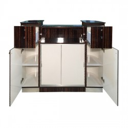 Reception Desk C 209 (Cherry Aluminum)12