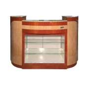 Reception Desk C 209 (Maple Oak)