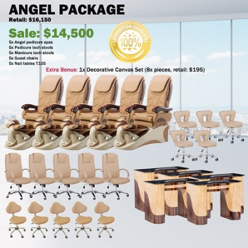 Angel Spa Salon Package