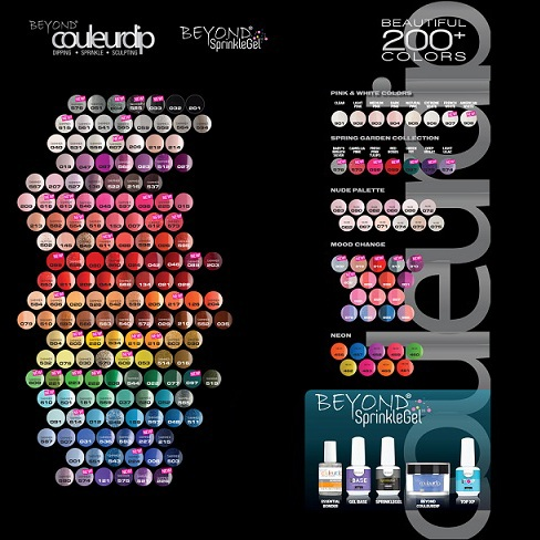 Beyond Couleurdip 2-in-1 Acrylic Dipping Powder- All color collections