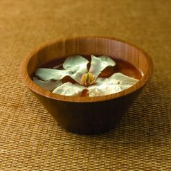 Botanical Escapes Bamboo Spa – Manicure Bowl